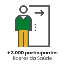 Ícone - 3 mil participantes líderes da saúde