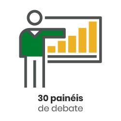 ícone - 30 painéis de debate