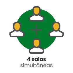 ícone - 4 salas simultâneas